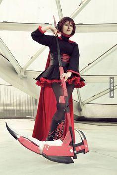 Ruby Rose Cosplay