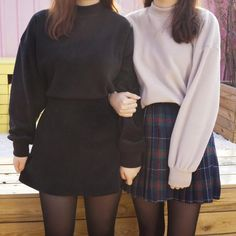 kfashion : on We Heart It Grunge Look, Grunge Style, 90s Grunge, Soft Grunge, Style Pastel, Mode Simple, Cool Outfits, Fashion Outfits, 90s Style Outfits