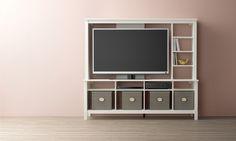 TOMNÄS tv-meubel | #IKEAcatalogus #nieuw #2017 #IKEA #IKEAnl #tv #meubel #slaapkamer #woonkamer #wit