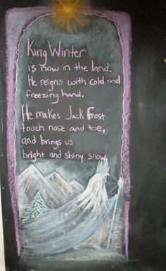 Great winter verse!