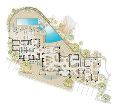 The Rocks Scottsdale, Arizona Private Golf Community and Luxury Villas - Floor Plans Site Plans, Luxury Villa, House Floor Plans, The Rock, Scottsdale Arizona, Community, House Design, Flooring, How To Plan