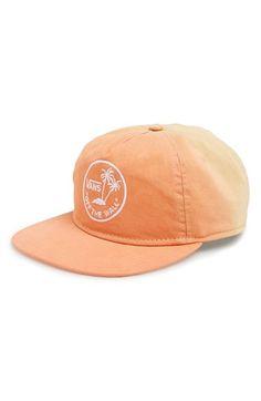 6a354817e4a Men s Vans  Dipped  Snapback Cap - Orange