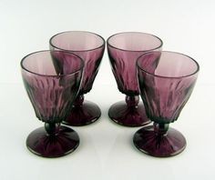 Hazel Atlas Moroccan Amethyst Depression Glass ~ I'm up to about a 100 pieces