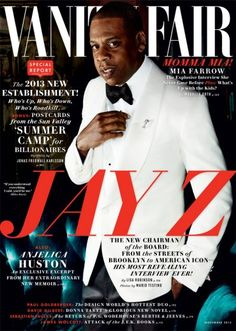 Jay Z | VF November 2013 This is a good article...I really like this guy!