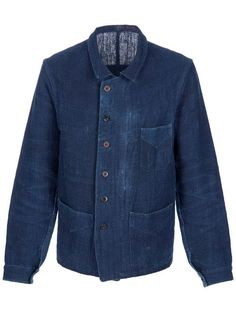 Men - De Rien Indigo Work Jacket - Hostem Shop | clothing ...