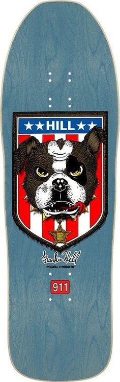 Powell Peralta Frankie Hill Bulldog Skateboard Deck **Pre-Order**