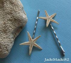 Starfish hair pins.