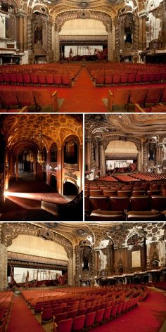 Part Two: Abandoned Music Halls, Ballrooms, Theatres, Movie Palaces: Urban Ghosts |