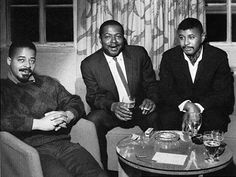 Jimmy Cobb, Wynton Kelly et Paul Chambers another one of Miles' great rhythm sections