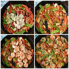 This Shrimp with Hot Garlic Sauce is family approved. Comes together in just minutes, so its perfect for those busy weeknight meals. Best Shrimp Recipes, Shrimp Salad Recipes, Shrimp Recipes For Dinner, Shrimp Dishes, Fish Recipes, Seafood Recipes, Asian Recipes, Ethnic Recipes, Arugula Salad Recipes