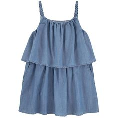 Chloé - Jean dress with flounces - 153638