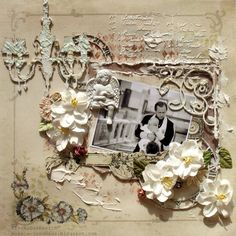 While Angels Rest **2Crafty Chipboard and Manor House Creations** - Scrapbook.com