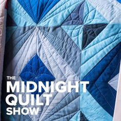 Strip City: Free quilt pattern and tutorial featured on The Midnight Quilt Show