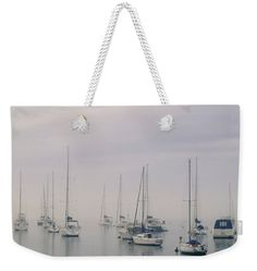 Seascape Weekender Tote Bag featuring the photograph Sailing by Silvia Bruno