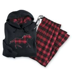 Red Horse Hoodie - Horse Themed Gifts, Clothing, Jewelry and Accessories all for Horse Lovers   Back In The Saddle