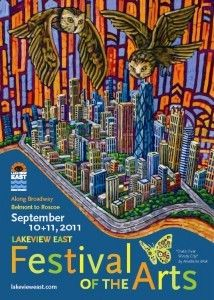 """Art View in Lakeview is a great one, as is Lakeview East Festival of the Arts"" - @Chicagoista"