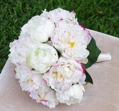 Natural Touch Peonies Bouquet