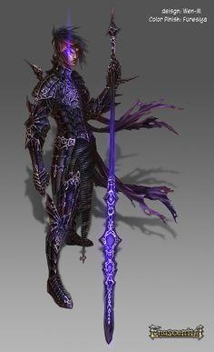 Enascentia: Janah Spear master by Wen-M.deviantart.com on @DeviantArt