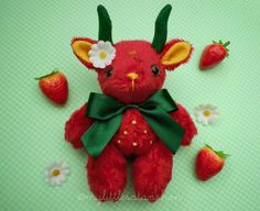 Cute Stuffed Animals, Cute Plush, Creepy Cute, Cute Toys, Plush Dolls, Plushies, Cute Art, Art Dolls, Holi