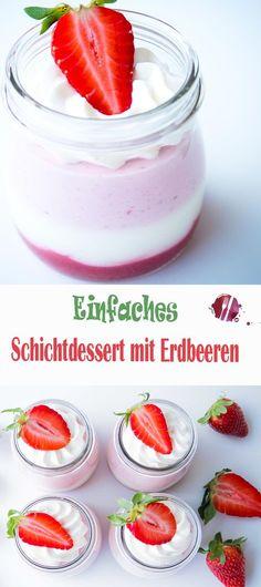 Eine leichte Versuchung, seit es Erdbeeren gibt! Ein tolles und schnelles Rezept, wie ihr Erdbeeren einmal anders in Szene setzen könnt. Mit dieser Süssspeise seid ihr der Star!