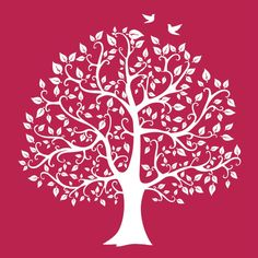 ok  think light blue wall brown tree......