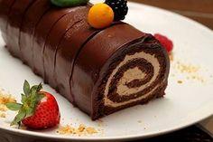 Brazo Gitano de Chocolate y Moka