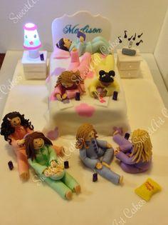 Sleep over cake - Happy Birthday Madison