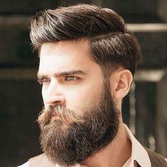 Beard Comb Over