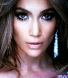 makeup for the wedding. jlo from 'on the floor' music video.