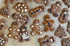 Or shall I call them Gingerbread Hazelnut Cookies since they are made primarily with hazelnut flour? Our children have so much fun cuttin...