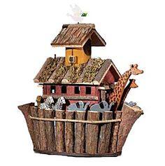 Noah's Ark Bird House