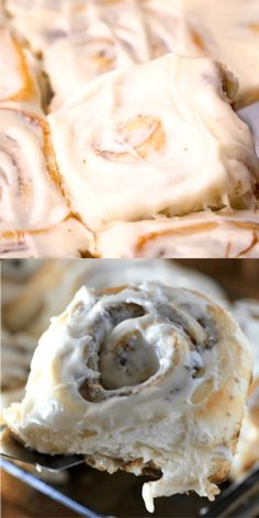 Who needs buns of steel when you could have buns of cinnamon? These are the World's Best Cinnamon Rolls and once you try them you'll never go back. Bacon Cinnamon Rolls, Cinnabon Cinnamon Rolls, Sourdough Cinnamon Rolls, Cinnamon Roll Icing, Cinnamon Cake, Maple Bacon, Best Dessert Recipes, Sweet Recipes, Breakfast Recipes