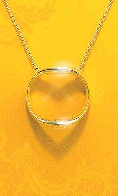 "This pensive necklace ""Shadow Heart"" embodies the sentiment that thought love is not always seen, it is always present."