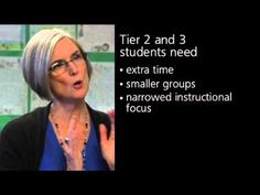 Response to Intervention (RTI): Tier 2 and Tier 3 students - YouTube