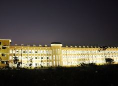 Night view of Hi-Tech College of Engineering