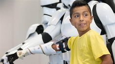 3ders.org - Nebraska 9-year-old boy gets 3D printed 'Star Wars' arm delivered by Darth Vader | 3D Printer News & 3D Printing News