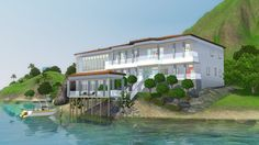 The Sims 3 House - Seas the Day