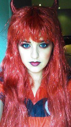 devil makeup | costumes | Pinterest | Devil makeup, Devil and Makeup