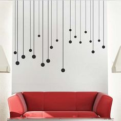 Designer Wall Stickers s3 decorative wall stickers for your houses interiors 43 pictures Round Drops Wall Decals