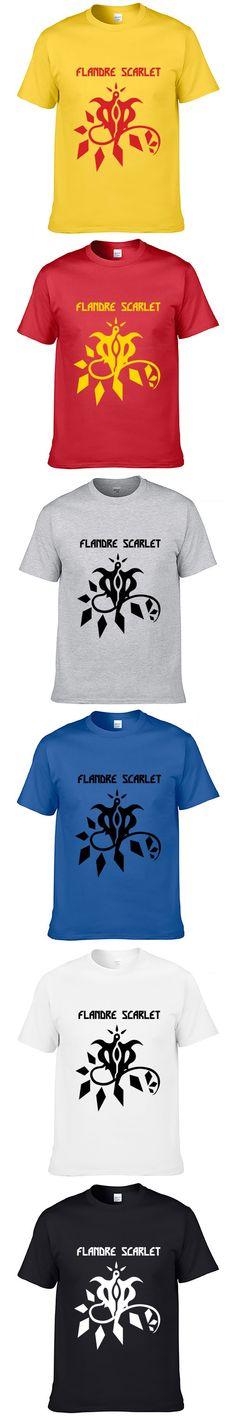 FLANDRE SCARLET TouHou Project T-shirt Animation Comic Cosplay Fashion Azathots