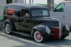 1941 Ford delivery Panel Truck,Hot Rod,Classic Car for sale: photos, technical specifications, description Trucks For Sale, Cool Trucks, Cool Cars, Firebird, Hot Rod Autos, Old Pickup, Hot Rod Pickup, Pickup Trucks, Muscle Cars For Sale