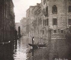 Venice, 1895 photo by Adolph Meyer