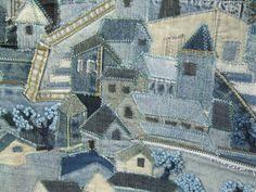 denim house quilt,val d'argent 2012