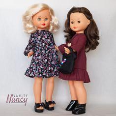 Te gustaría hacer tú misma montones de modelitos para la muñeca Nancy? Para regalar o por simple satisfacción personal. Prueba los patrones de Vanity Nancy, listos para descargar e imprimir al instante.