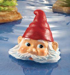 Peeking Gnome Pool Floater