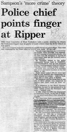 an analysis of the victims of the serial killer called ripper in england The term ripperology was coined to describe the study and analysis of the ripper jack the ripper and the torso killer victims list of serial killers.
