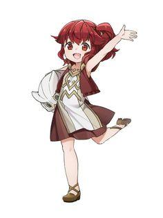 Anna Fire Emblem Awakening, Kid Character, Character Concept, Fire Emblem Characters, Anime Characters, Kawaii Anime Girl, Anime Art Girl, Anime Red Hair, Lolis Neko