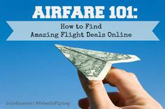 Airfare How to Find Amazing Flight Deals Online Airfare Deals, Flight Deals, Find Cheap Flights, Vacation Travel, Online Deals, First Step, Cleaning Wipes, Surface, How To Remove