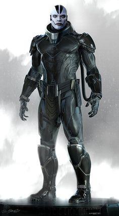 Marvel Concept Art, Concept Art World, Alien Concept, Hq Marvel, Marvel Comic Universe, Marvel Comics, Apocalypse Costume, Xmen Apocalypse, Marvel Villains