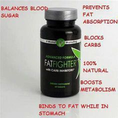 It Works! Fat Fighter  Take it after a meal to absorb some of the fat and carbs! Wonderful weight loss product! Call or text 520-840-8770 http://bodycontouringwrapsonline.com/fat-fighter